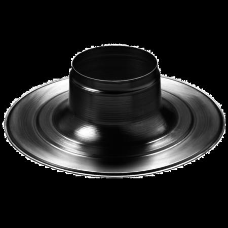 Plakplaat voor Ventub 110 ventilatiepijp - plat dak