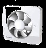 Vent-Axia Vent-Axia Svensa app-gestuurde badkamerventilator - 140 m3/h - Ø100mm &  Ø125mm