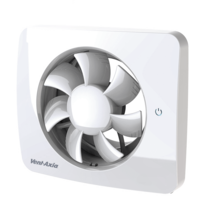 Svensa app-gestuurde badkamerventilator - 140 m3/h - Ø100mm &  Ø125mm