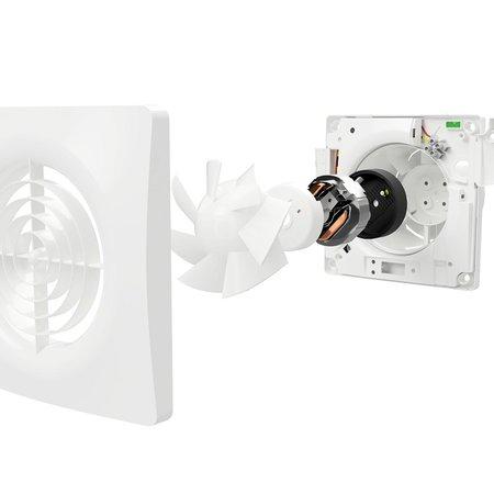 Vent-Axia Vent-Axia Supra 100T badkamerventilator - timer - 97 m3/h - Ø100mm