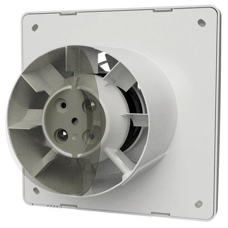 Vent-Axia Vent-Axia Supra 100TM badkamerventilator - timer & bewegingssensor - 97 m3/h - Ø100mm
