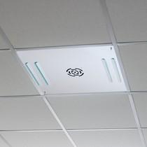 Panel luchtreiniger voor in systeemplafonds - wit