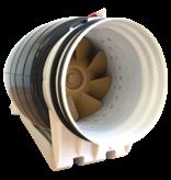 Whisper 'Gold Line' buisventilator - Ø100 & Ø125mm - EC-motor