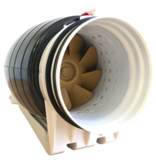 Whisper 'Gold Line' buisventilator - Ø200mm - EC-motor