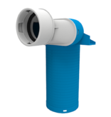 Vent-Axia Vent-Axia Uniflexplus + ventielcollector - 1x Ø90mm - H=250mm