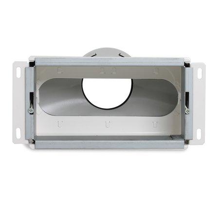 Vent-Axia Vent-Axia Uniflexplus + wandollector - 1x Ø90mm - achter aansluiting