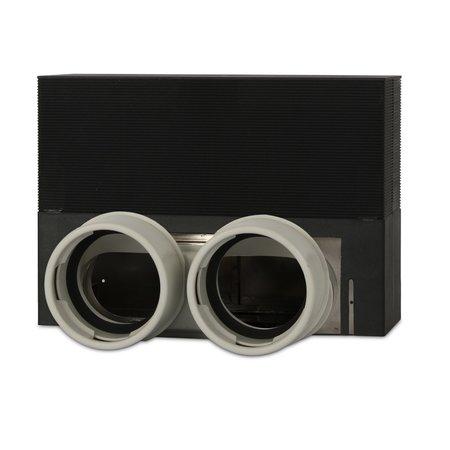 Vent-Axia Vent-Axia Uniflexplus + vloercollector - 2x Ø90mm