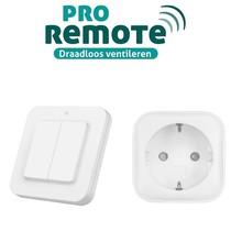 Pro-Remote installatieset voor draadloze bediening ventilatoren