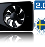 Nedco Nedco Intellivent 2.0 badkamerventilator zwart 134 m3/h