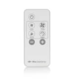 Itho Daalderop BTV Supreme Badkamer- en Toilet Ventilator met timer, vochtsensor en RF zender