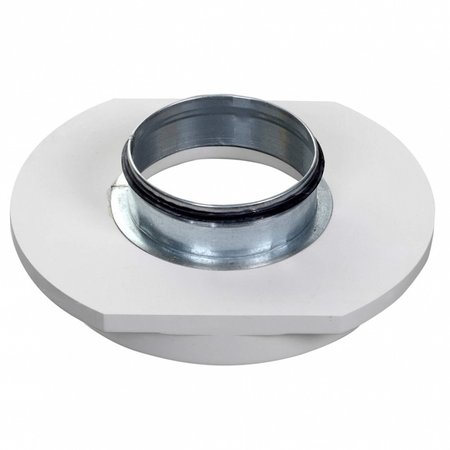 CIRCLE - Instucbaar frameloos ventiel - Ø100mm - TOEVOER & AFVOER