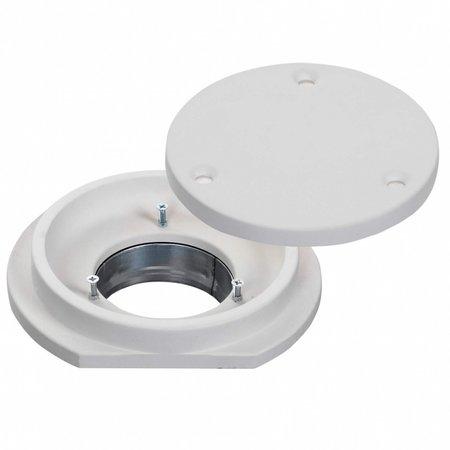 CIRCLE - Instucbaar frameloos ventiel - Ø125mm - TOEVOER & AFVOER