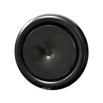 Rooster/ventiel Ø100mm staal - toevoer - met veer - zwart
