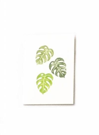 Herr Pong MONSTERA LEAF Coaster