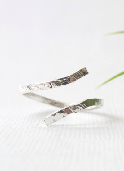Wild Fawn HAMMERED Ring