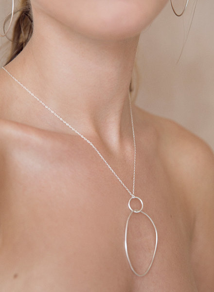 Wild Fawn OVAL DROP Necklace