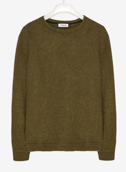 Frisur Clothing HANS Sweater I Fluffy Moss