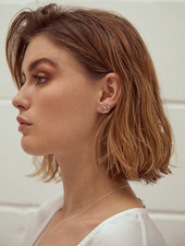 Wild Fawn DOUBLE CIRCLE Studs