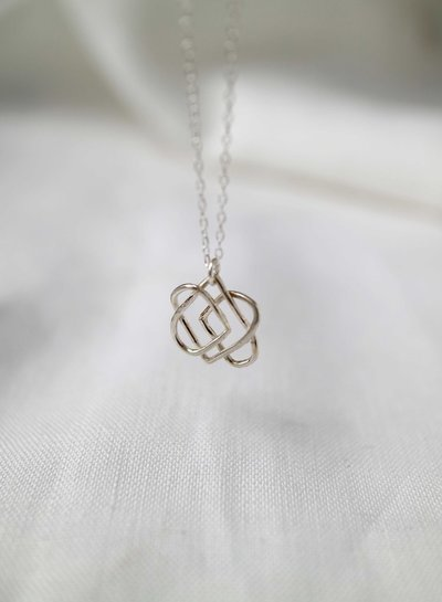 Wild Fawn LOVE KNOT Necklace
