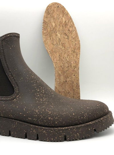 nat-2 CHELSEA CORK Boot I Vegan