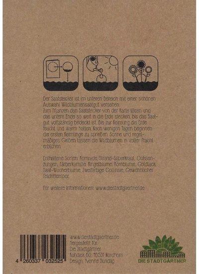Die Stadtgärtner BLUMENSTRAUSS Grußkarte