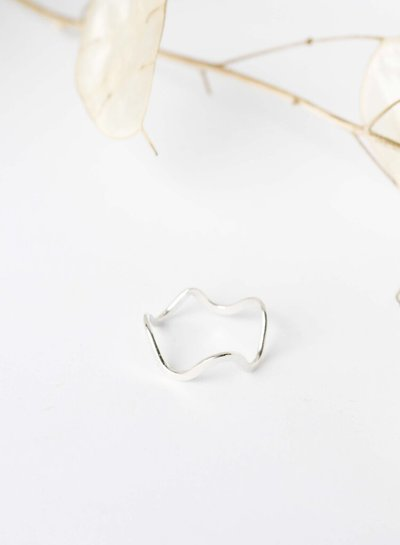 Wild Fawn ABSTRACT CURVY Ring