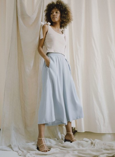 COSSAC BLUE GREY Culotte