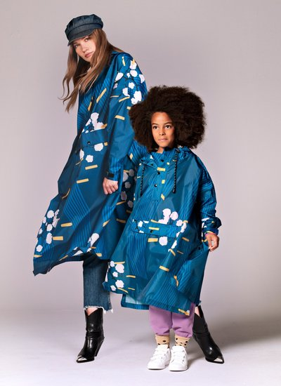 RAINKISS KIDS I JAPANESE BLOSSOM Rainponcho