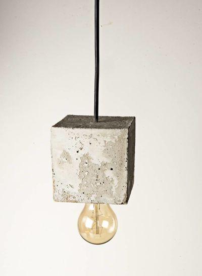 Acc. Concrete Accidental Concrete I Beton Hängelampe