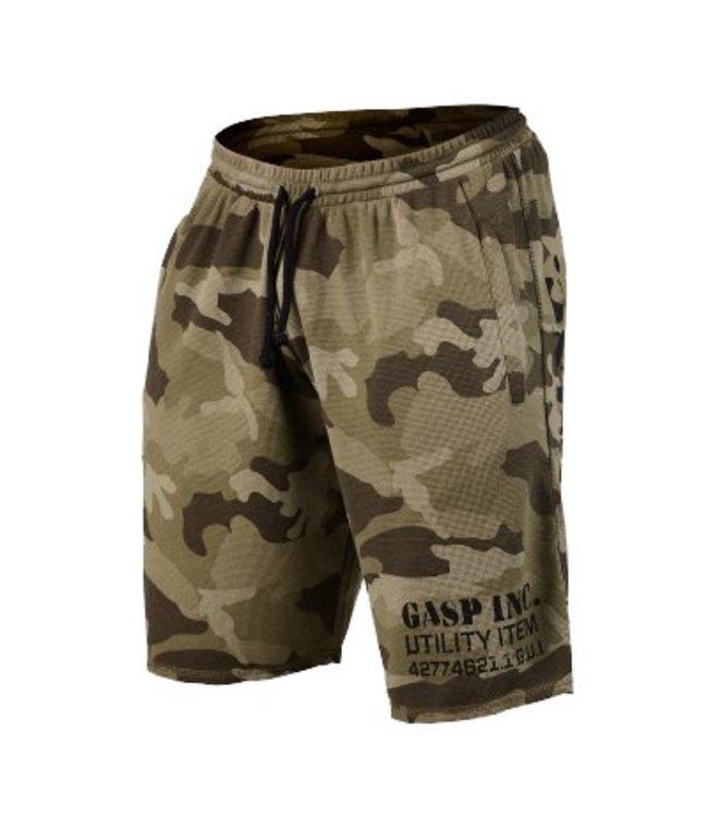 GASP Thermal Shorts - Green Camoprint