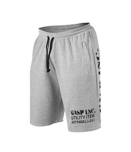 GASP Thermal Shorts - Grey Melange