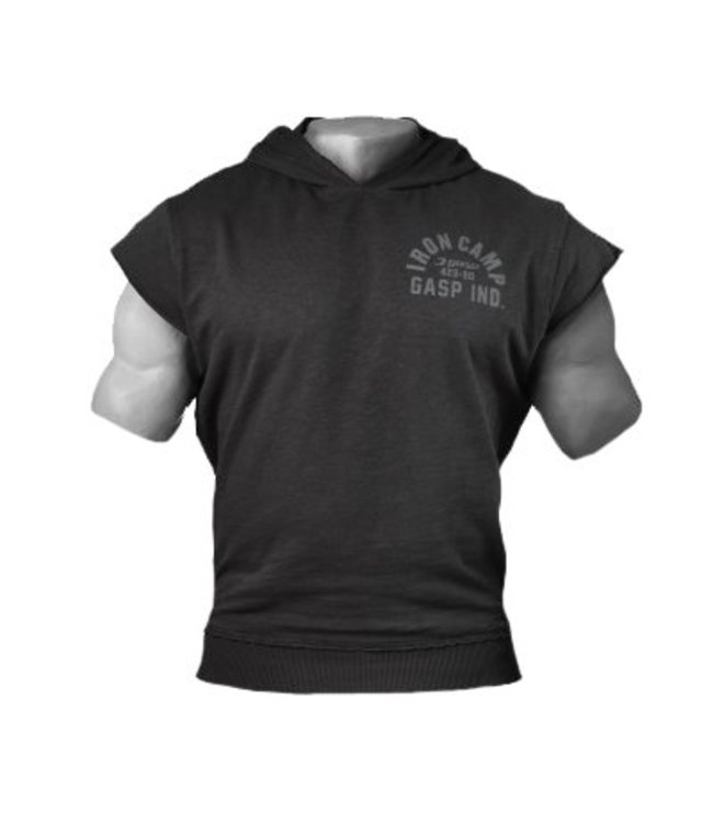 GASP Throwback Hood - Washed Black