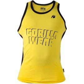 Gorilla Wear Stretch Tank Top - Yellow
