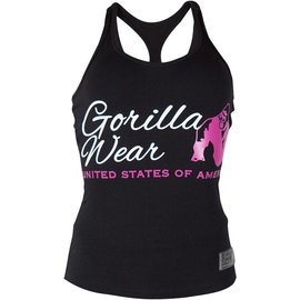 Gorilla Wear Ladies Classic Tank Top - Black