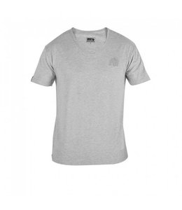 GORILLA WEAR Essential V-neck T-shirt - Grey