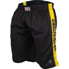 Gorilla Wear Track Shorts - Yellow