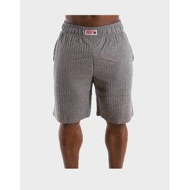 Gorilla Wear Classic Seersucker Shorts - Grey Melange