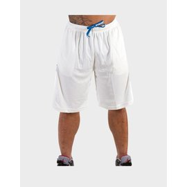Gorilla Wear Superior Mesh Shorts - Pure White