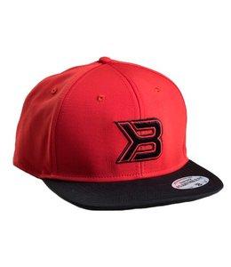BETTER BODIES Flat Bill Cap - Red