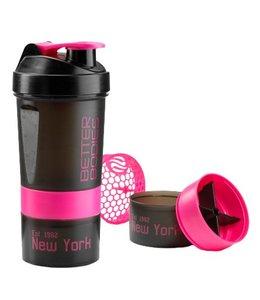 BETTER BODIES BB Pro Shaker 600 - Black/Pink
