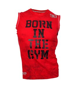 OLIMP LIVE & FIGHT Reborn Sleeveless Tee Shirt - Red