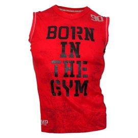 Olimp Live & Fight Reborn Sleeveless Tee Shirt - Red
