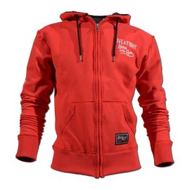 Olimp Live & Fight Men's Hoodie Stacked Red