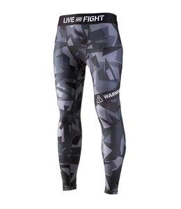 OLIMP LIVE & FIGHT Men's Leggings - Classic Black