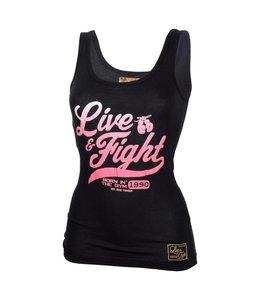 OLIMP LIVE & FIGHT Tank Top Original 90 - Black