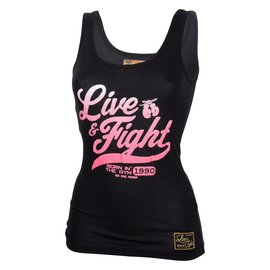 Olimp Live & Fight Tank Top Original 90 - Black