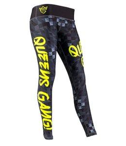 OLIMP LIVE & FIGHT Women's Leggings - Black Neon