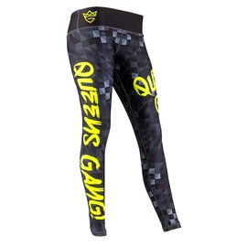 Olimp Live & Fight Women's Leggings - Black Neon