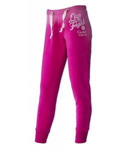 OLIMP LIVE & FIGHT Ladies Pants Red Rose - Rasberry