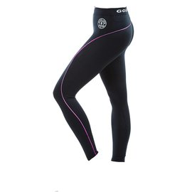 Gold's Gym Ladies Long Gym Leggings - Black/Pink